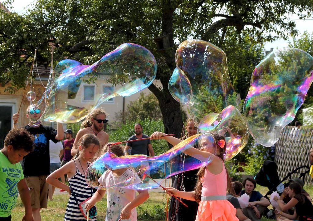 Riesenseifenblasen Workshop