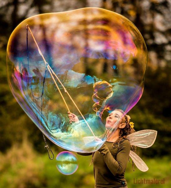 Kunst Seifenblasen