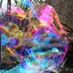Riesenseifenblasen Kunst Fotografie