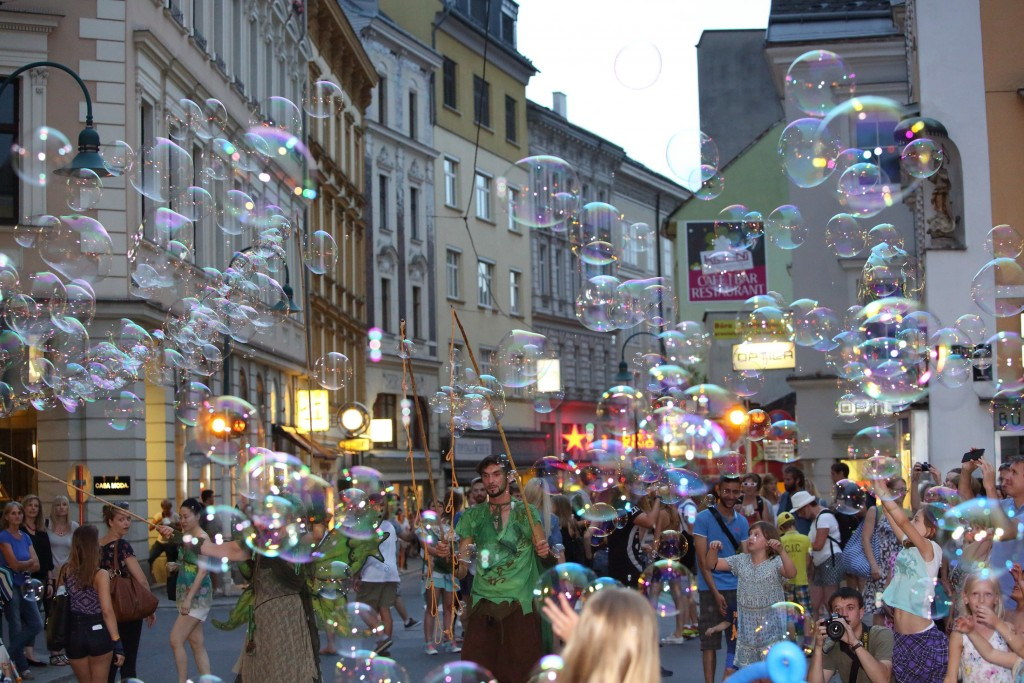 Pflasterspektakel2016 Bubble Fairies